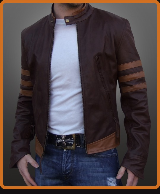 X-Men Origins Wolverine Leather Jacket