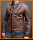 replica leather jacket worn by Robert Downey Jr. in Iron Man