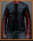 Replica of the leather jacket in the The Dark Knight